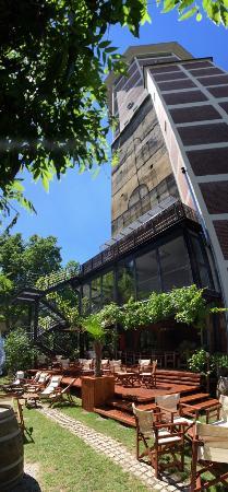 kulTurm: TurmGarten mit Terrassen