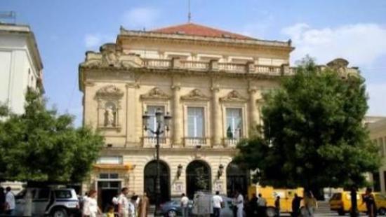 Constantine, Algeria: Extérieur du théâtre