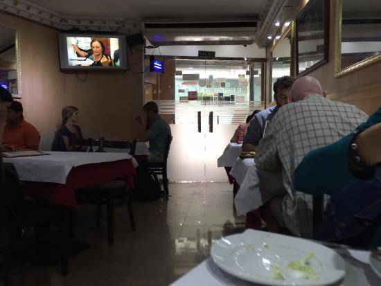 Bombay Spicy: Zona del comedor
