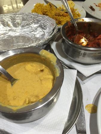 Bombay Spicy: platos de la comida