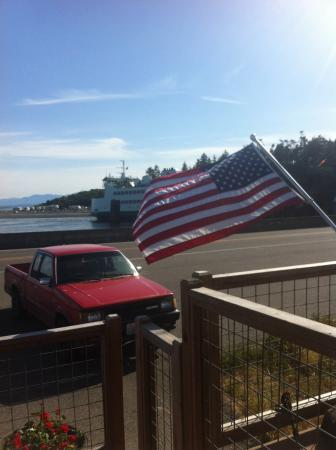Coupeville, WA: View from the deck
