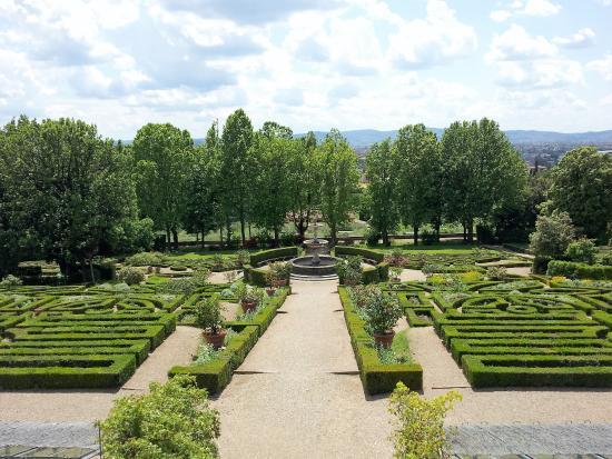 Il Giardino di Villa della Petraia