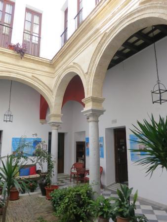Hotel Casa del Regidor: Innenhof