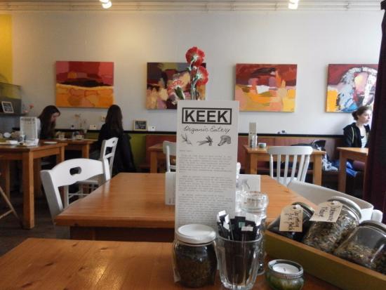 Keek: inside :)
