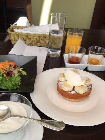 Sheraton Miyako Hotel Tokyo : Colazione con plumcake