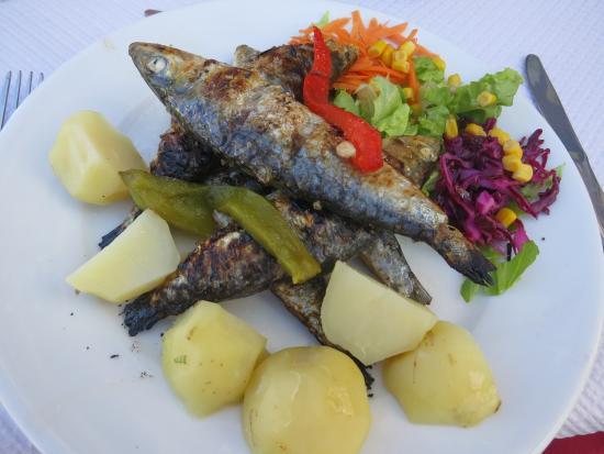 Restaurant Imperial: Sardinen für 5 €!
