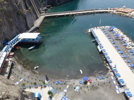 Sant'Agnello, إيطاليا: View from above