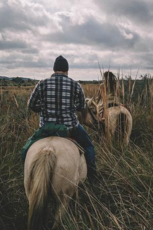 Caballos De Luz: Me and Lucie Riding trough the Sierra Rocha