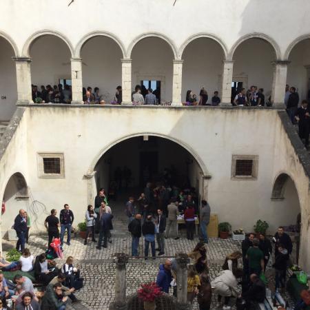 Palazzo Fortificato Santucci: Veduta da ingresso