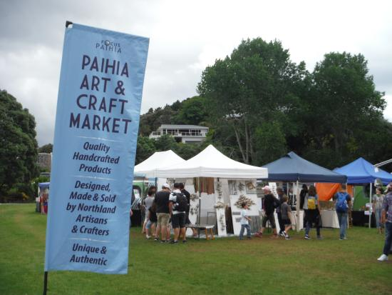 Paihai russell ferry station picture of bay of islands for Arts and crafts industry