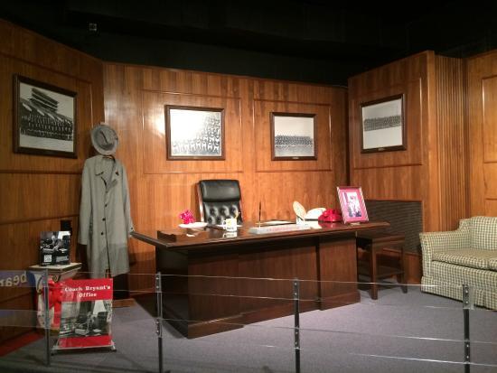 Tuscaloosa, AL: Esta é a sala do técnico (coat)