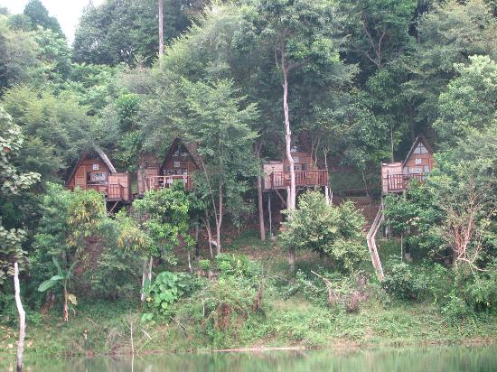 Belum Eco-Resort Sdn.Bhd.: The Chalets from the lake