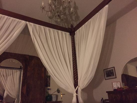 Villa Albertina: Momentaufnahme aus dem Bett heraus :-)