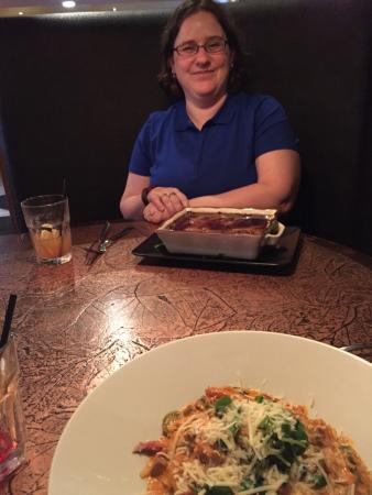 pasta special and sheperds pie
