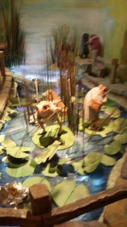 The World of Beatrix Potter: The lily pad.