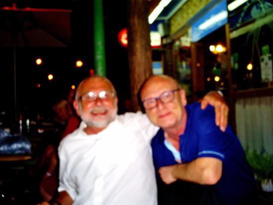 Casa do Pulpo: My husband with Steve!
