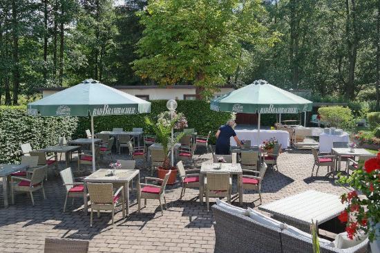 Hotel Vogtland: Terrasse