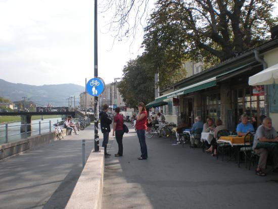 Fisch Krieg: Stadt Salzburg - Fischgeschäft
