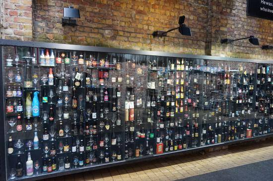 2be Beer Wall: Il muro della birra