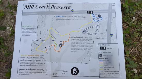 Alachua Florida Map.Map Of Mill Creek Preserve Picture Of Mill Creek Preserve West