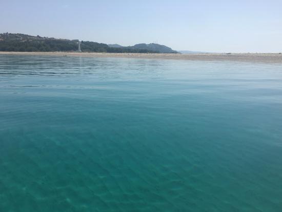 AllinBlusive: Posidi view from Sani Swan !