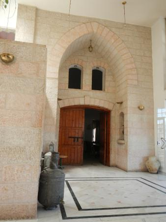 Karak, Yordania: ENTREE DU RESTAURANT
