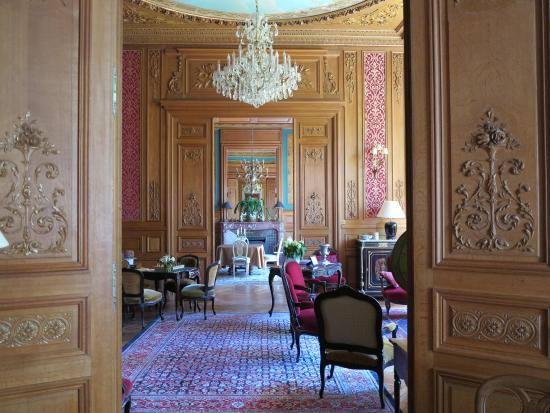 Chateau de Verrieres & Spa: Salons