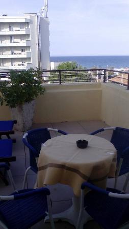 Questa era la terrazza della mia camera - Picture of Hotel San ...