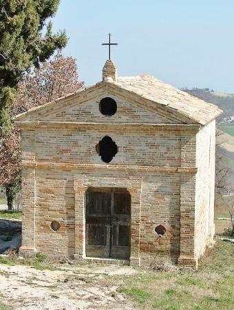 Moresco, Taliansko: Piccola chiesa in disuso