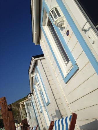 Tolcarne Beach Apartments: Beach Cabin no. 10