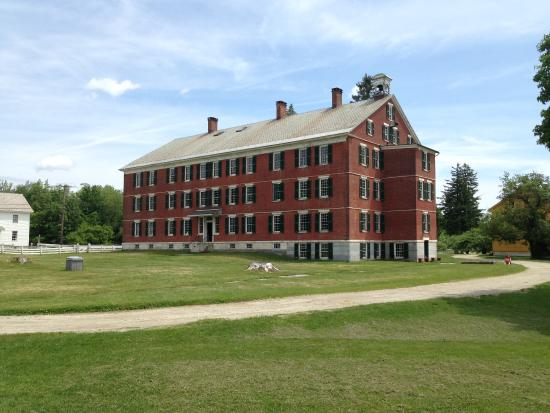 Pittsfield, MA: Gathering place for meetings, eating, and sleeping on the upper levels