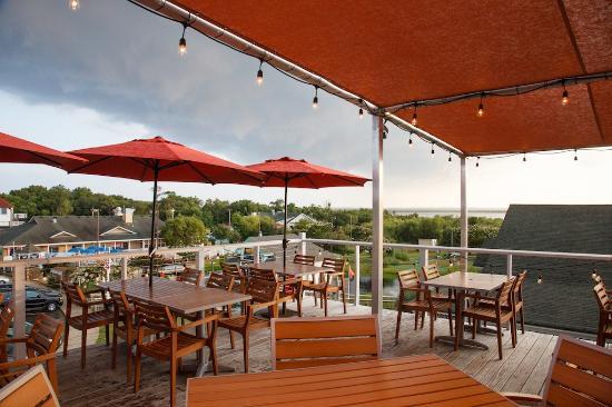 Upside Restaurant Bar Best View In Corolla