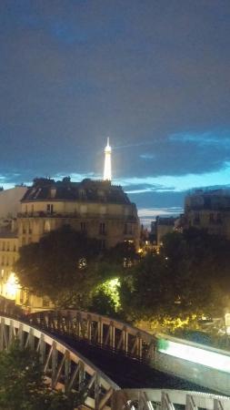 Eiffel Villa Garibaldi: La vista dalla camera 51
