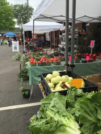 Chesterton, IN: This market every Saturday from 8 to 2 is delightful.