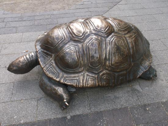 Skulpturengruppe Schildkröten