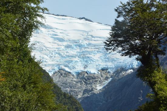 La Junta, Chile: Ein hängender Gletscher , der Ausflug lohnt sich