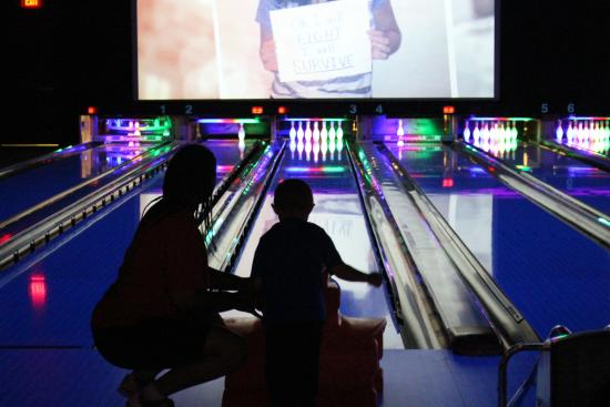 Choctaw Casino Resort: Bowling alley