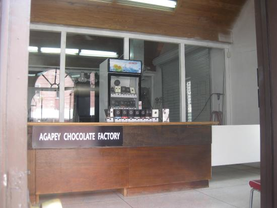 Agapey Chocolate Factory - does what it says - make's Chocolate!