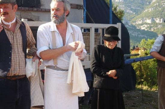 Scène De La Femme Du Boulanger Photo De Randonnées