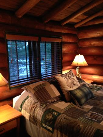 Ely, MN: Lodge Bedroom