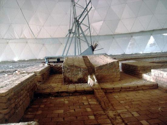 Inside Maragheh Observatory