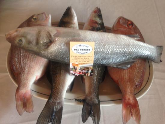 Old Street: fresh fish