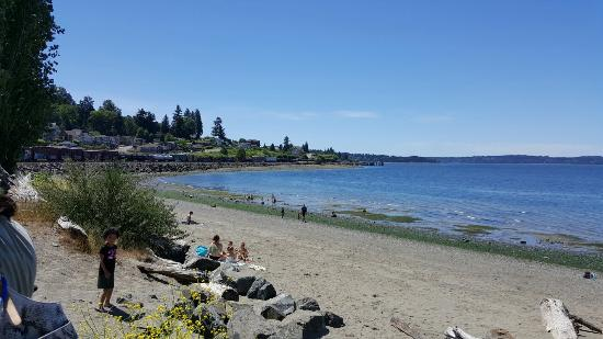 Steilacoom, WA: Sunnyside Beach