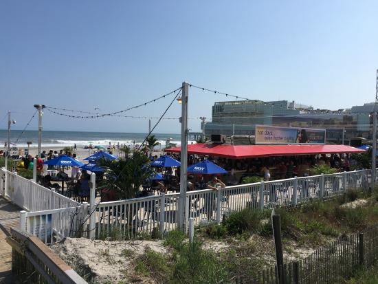 Bally S Beach Bar Atlantic City Nj
