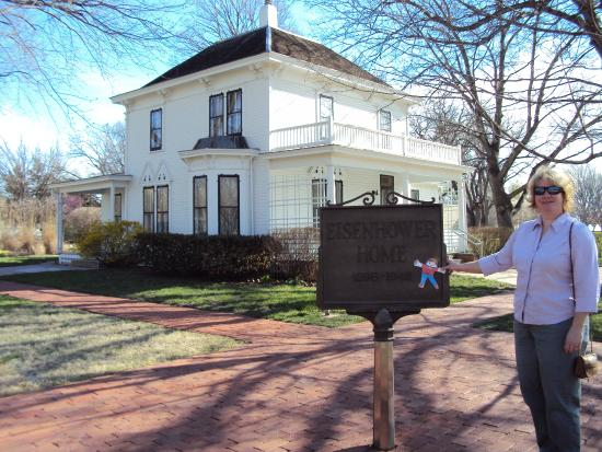 Abilene, KS: One of Dwight D. Eisenhower's childhood homes.