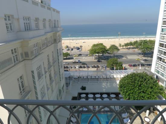 Belmond Copacabana Palace Beach Hotel Rio Room With A View