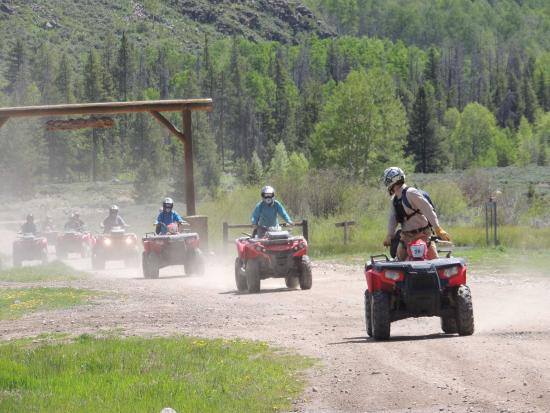 Red Cliff, CO: Guided Vail ATV Tours with Nova Guides