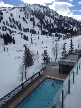 Alta, UT: They heat the pool REALLY warm!