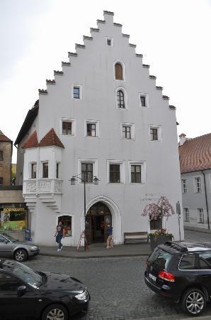 Sulzbach-Rosenberg, Deutschland: Белый дом пекаря