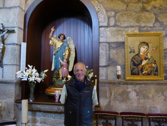 Hotel Monumento Pazo de Lestrove: Capilla del Angel de la Guarda.